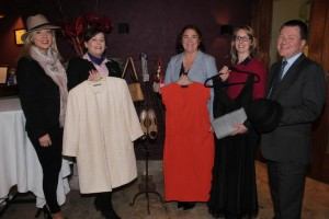 At the launch of Dress Haven were,  from left: Nicola O'Sullivan (Sales and Marketing Manager Fels Point), Laura O'Reidy (Operations Manager Fels Point), Grace O'Donnell (Recovery Haven), Mary Brick and Denis Leary (General Manager Fels Point). Photo by Gavin O'Connor.