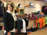 Una O'Mahony, founder of Radar Sports at their new premises in Ivy Terrace. Photo by Gavin O'Connor.