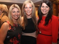 Jane Lynch, Paula Foley and Melissa Costello at the 'Dress Haven' fundraiser in aid of Recovery Haven in the Fels Point Hotel on Saturday night. Photo by Dermot Crean