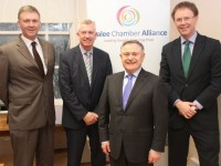 Minister Howlin Meets With Business Interests In Tralee