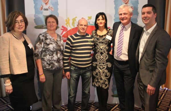 At the 'Live Life Love Concert' were, from left: Bridget Crowley, Elma Walsh, Marty Boylan, Mary Lucey, Finbarr Walsh and Brian Hurley. Photo by Gavin O'Connor.