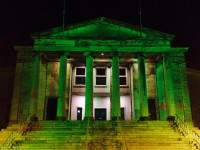PHOTOS: Town Buildings Going Green From Tonight In Run-Up To St Patrick's Day
