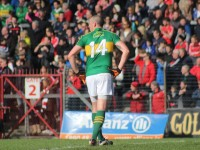 Kieran Donaghy, turns his back on his job to concentrate on football. Photo by Gavin O'Connor.