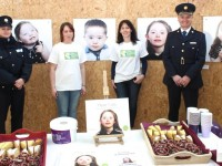 Sergeant Eileen O'Sullivan, Miriam Lyons, Natalie Vanhattem and Chief Superintendent Pat O'Sullivan at the Kerry launch of 'Here I Am' on Saturday in the Manor West Retail Park. Photo by Dermot Crean