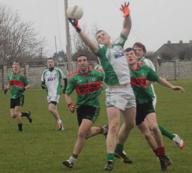 Action from Na Gaeil v Beale in the Division 3 of the county league. Photo by Gavin O'Connor.