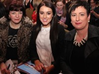 Veronica Houlihan, Dingle, Maureen McCarhty and Frances McCarthy, Fenit at the 'Agents of Change-Empowering Women through Education' event last night, at the Ballygarry House Hotel and Spa. Photo by Dermot Crean