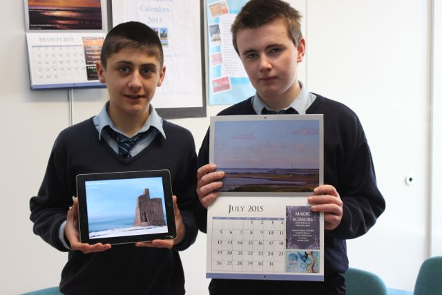 Students from St Joseph's Ballybunion were, Padraig Holly and David Hennessy at the Kerry LEO Student Enterprise Awards at the ITT on Friday. Photo by Gavin O'Connor