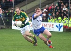 Darren O'Sullivan in action for Kerry. Photo by Dermot Crean.