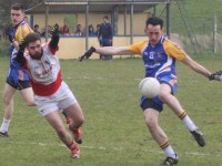 Action from Ballymacelligott v St Pats in Division 3 of the county league. Photo by Gavin O'Connor.
