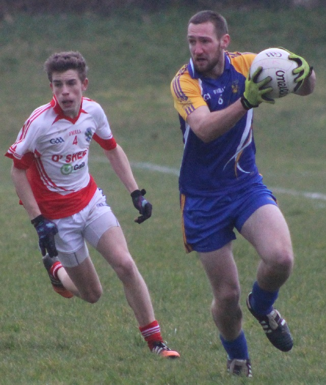 Action from Ballymacelligott v St Pats. Photo by Gavin O'Connor.