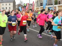 Runners taking off at the start of the Tralee Half-Marathon on Sunday morning. Photo by Dermot Crean