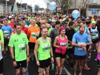 Runners get set to go in the Tralee Marathon on Sunday morning. Photo by Dermot Crean