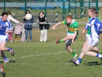 John Mitchels, Alan O'Donoghue, in action against Templenoe in last year's county league meeting. File photo.
