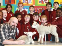 PHOTOS: Wool You Believe It? Twins Begin Schooldays In Moyderwell
