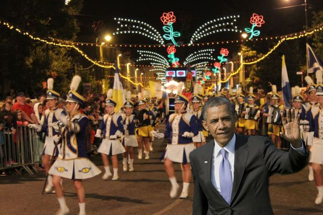 Photos What If Barack Obama Really Did Come For The Rose Of Tralee Festival Traleetoday Ie