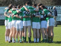 Na Gaeil get ready for round their opening round game against St Pat's. Photo by Gavin O'Connor.