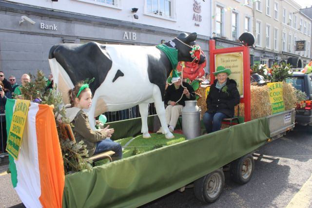 The Kerry County Show float at the parade. Photo by Dermot Crean