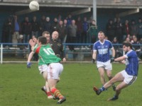 Kerins O'Rahilly's, Cormac Coffey aims a shot against, St Micheals/Foilmore. Photo by Gavin O'Connor.