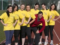 Ireland's premier personal trainer Karl Henry pushes team Irish Cancer Society to their limits as they get into gear for this years VHI Women's Mini Marathon.