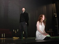 Adam Hennessy and Maryanne Brassil in a scene from 'Antichrist' performed in Siamsa Tíre on Good Friday night. Photo by Dermot Crean