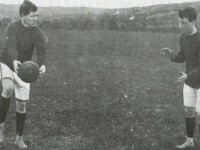 Dick Fitzgerald (left) was Kerry footballs first superstar, he played with Killarney Crokes during the period of the 1915 county final.