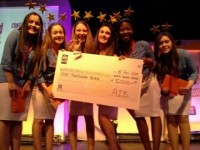 Presentation Girls Win Overall National AIB Build A Bank Award