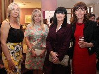 Norma Dunne, Cecelia Casey, Linda O'Regan and Deirdre Mahony at the 'Fashion Fusion' Fundraiser in aid of the Duggan Family House Fire Appeal in the Fels Point Hotel on Saturday night. Photo by Dermot Crean