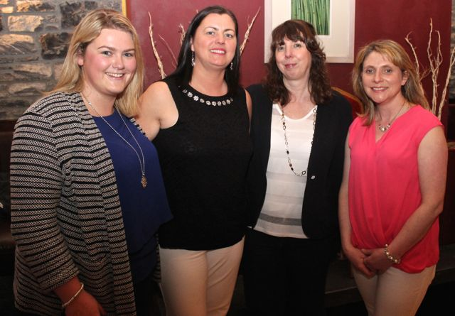 At the Tralee Imperials Basketball Club Awards night in O'Donnell's Mounthawk on Friday night were,   Sarah Dinan, Niamh Collins, Kathy Williams and Sorcha Uí Shuilleabháin. Photo by Dermot Crean