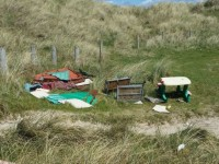 PHOTOS: Disgraceful Dumping At Banna Sand Dunes