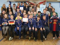 Erasmus Students Visit Kerry Scouts For International Night