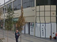 Where the new Peacocks store is expected to be located in Abbey Court.