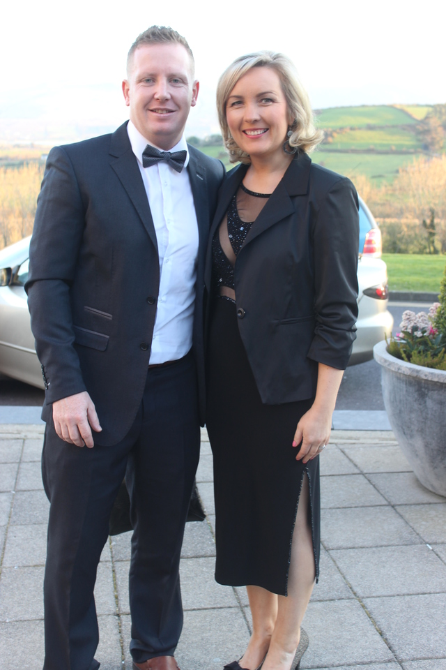 At the Austin Stacks Social in the Ballyroe Heights Hotel were, from left: Danny and Sive Maguire. Photo by Gavin O'Connor.