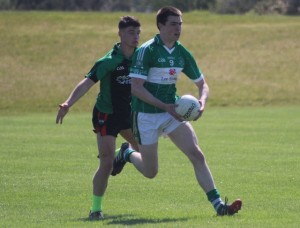 Na Gael's, Jack Barry in action. Photo by Gavin O'Connor.