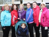 At the annual Kerry Hospice Walk were,  from left, in front: Noah Fealey. Back: Mary Corkery, Caroline Reidy, Michelle Fealey, lorraine O'Donnell, Casey O'Donnell and Phil O'Sullivan. Photo by Gavin O'Connor.