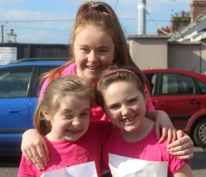 At the Kerins O'Rahillys Ladies 5K Family Fun Run were, from left: Aisling Tansely, Eva Kelliher, Mary Angela Lynch. Photo by Gavin O'Connor.