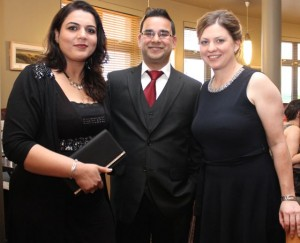Sucheta and Navroop Johnson and Jennifer Keane of the Killarney Club at the Kerry Badminton Annual Social at the Ballyroe Heights Hotel on Friday evening. Photo by Dermot Crean