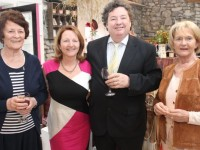 Therese Collins, Pauline and Eddie Barrett and Margaret Gleasure at the Mellon Educate fundraiser in Bamboo Boutique, in Ardfert on Friday. Photo by Dermot Crean