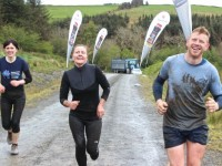 Joanne Fitzgerald, Anne Brosnan and Gary Normoyle finishing the BWildered Challenge last year. Photo by Dermot Crean