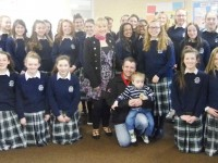 Presentation Girls Raise €750 To Help Little Daniel