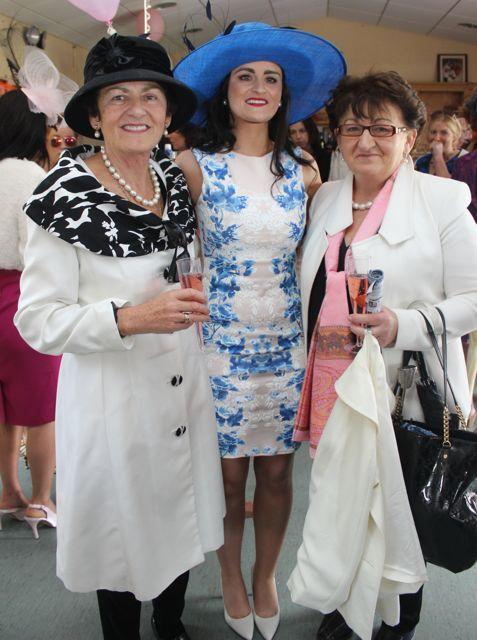 enjoying Ladies Day at the Listowel Races on Sunday. Photo by Dermot Crean