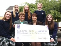 Presentation Students Raise Funds For Cuan Mhuire