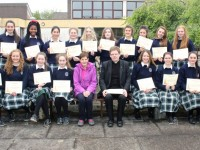 Presentation Students Receive Certs For Taking Part In Liturgy Programme
