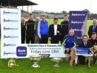 Great excitement in Fitzgerald Stadium on Thursday evening at the Launch of the 2015 Boylesports Race of Champions & The Kerry Team Training Fund to be held on the 19th June at the Kingdom Greyhound Stadium. Attending the Launch from Left  Joe Wallace ( Org Committee), Ger McCarthy (Kerry Hurling officer), Shane Nolan (Kerry Snr Hurler), Con Griffin (Org Committee), representing the Main Sponsors Pr Exectutive, Boylesports, Liam Glynn, Commercial Dir I.G.B. Colin Walsh, Colm Harty (Kerry Snr Hurler), Christy O`Connell (C/Man of the Org Committee) and in Front Kerry Snr Football Players Kieran Donaghy, Brian Kelly and Aiden O`Mahony with Declan Dowling, KGS, Sales & Operations Manager.© 2015  www.deniswalshphotography.com  087-6017694