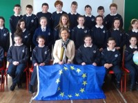 PHOTOS: Spa Pupils Quiz Irish MEP On Visit To Tralee