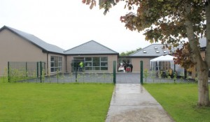 The new extension at St Ita's and St Joseph's School on Wednesday. Photo by Dermot Crean