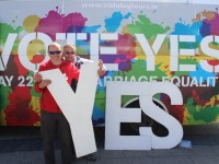 PHOTOS: The 'Yes' Bus Rolls Into Town