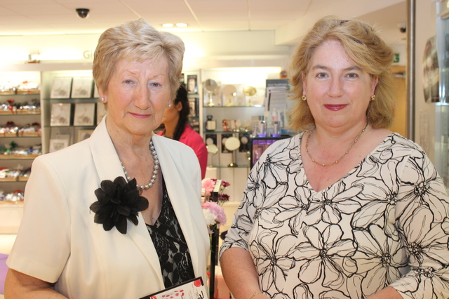 At the  were, from left: Mairead Fernane and Franciasse Walsh. Photo by Gavin O'Connor.