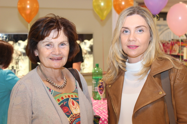 At the  were, from left: Mary Shanahan and Geraldine Shananhan Pearce. Photo by Gavin O'Connor.