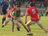 Kerry's, Mark O'Connor, in the 2015 Munster Minor Semi-Final against Cork. Photo by Gavin O'Connor.