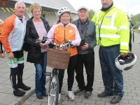 At the 'Live Life Campaign Cycle Against Suicide' on in Mercy Mounthawk were, from left: Martin Hayes, Vera Murphy, Michelle Darcy, Michael Murphy and Kevin Cooper. Photo by Gavin O'Connor.